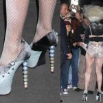 Zapatos de Lady Gaga