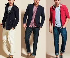 Ropa de moda para hombres jóvenes