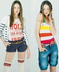 Ropa de moda para mujeres jóvenes