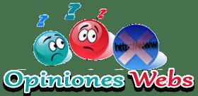 Opiniones, comentarios de sitios webs